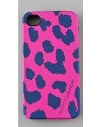 Rebecca Minkoff Pink Cheetah Iphone Case