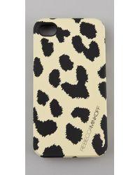 Rebecca Minkoff - Yellow Cheetah Iphone Case - Lyst
