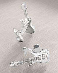 Robin Rotenier | Metallic Electric Guitar Cuff Links for Men | Lyst
