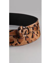Sonia Rykiel | Multicolor Leopard Cross Belt | Lyst
