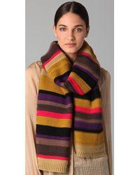 Sonia Rykiel | Multicolor Multi Stripe Scarf | Lyst