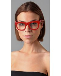 Retrosuperfuture | Red Ciccio Glasses | Lyst