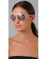 Tom Ford - Natural Vicky Sunglasses - Lyst