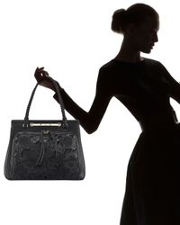 Valentino | Natural Leather Lace Demetra Bag | Lyst