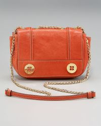 MILLY - Metallic Sophia Mini Crossbody Bag - Lyst