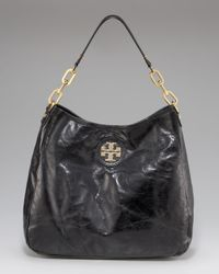 Tory Burch | Black City Hobo | Lyst