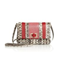 Anya Hindmarch | White Stripy Gracie Mini Shoulder Bag | Lyst