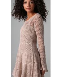 Free People | Natural Belle Swit Dress | Lyst