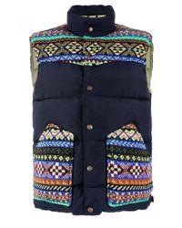 Penfield   Blue X Jamiesons Gillman Vest Navy Gillet for Men   Lyst