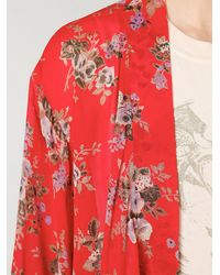Free People | Red Printed Kimono | Lyst