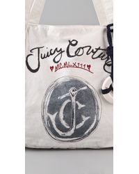 Juicy Couture - White Gen Y Ahoy Juicy Tote - Lyst