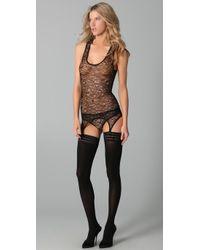 Kiki de Montparnasse - Black Ingenue Corset Panty - Lyst