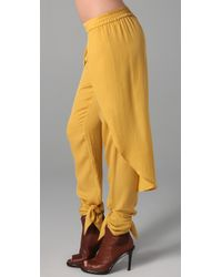 Sass & Bide - Yellow Cause & Effect Pants - Lyst