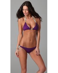 Basta Surf | Purple Kikitas Double String Bikini | Lyst