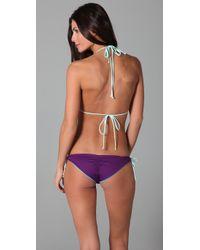 Basta Surf - Purple Kikitas Double String Bikini - Lyst