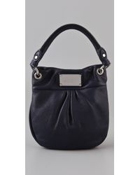 Marc By Marc Jacobs - Black Classic Q Mini Hillier Hobo - Lyst