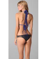 Mikoh Swimwear - Blue Martinique Bikini Top - Lyst