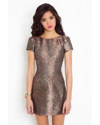 Nasty Gal | Brown Glamazon Dress | Lyst