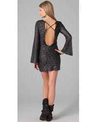 Nightcap | Metallic Priscilla Dress | Lyst