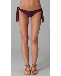 Tori Praver Swimwear | Purple Dusty Bikini Bottoms | Lyst