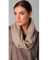 Vince | Natural Cashmere Infinity Scarf | Lyst