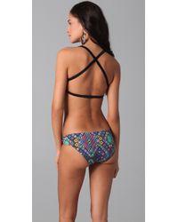 Zero + Maria Cornejo - Blue Nomad Multi Strap Bandeau Bikini Top - Lyst