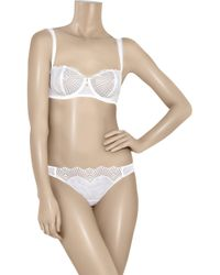 La Perla - White New Venus Corsetteria Thong - Lyst
