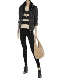 Mackage | Black Lina Leather Jacket with Detachable Gilet | Lyst