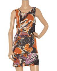 Marni | Orange Printed Cotton-jersey Dress | Lyst