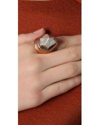Pamela Love - Metallic Single Crystal Ring - Lyst