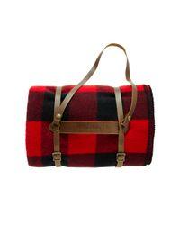 Pendleton | Red Lumberman Blanket | Lyst
