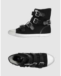 Ash - Black High-tops & Trainers - Lyst