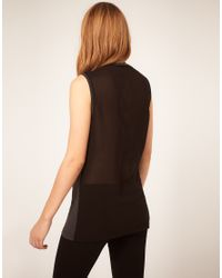 """ASOS Collection - Black Vest """"Ill Rock Your World"""" - Lyst"""