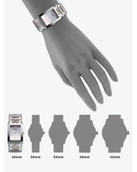 Fendi | Metallic Forever Watch Bracelet | Lyst