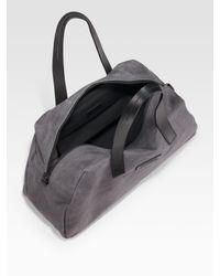 Ferragamo - Gray California Soft Travel Bag for Men - Lyst