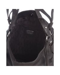 Furla - Black Coffee Leather Gam Hobo - Lyst