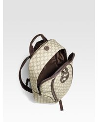Gucci | Natural Gg-plus Backpack for Men | Lyst