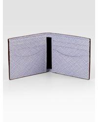 Jack Spade - Brown Security Envelope Leather Bill Holder for Men - Lyst