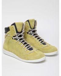 Maison Margiela | Yellow 22 Mens High Top Sneaker for Men | Lyst
