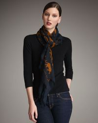 Marc By Marc Jacobs | Brown Panther-print Stole | Lyst