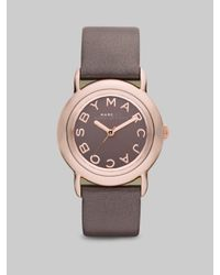 Marc By Marc Jacobs | Marci Gray Dial Watch | Lyst