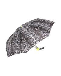 Marc By Marc Jacobs | Black Python Print Umbrella | Lyst