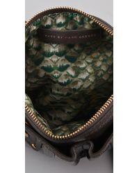 Marc By Marc Jacobs Black Turnlock Shine - Percy Crossbody Bag