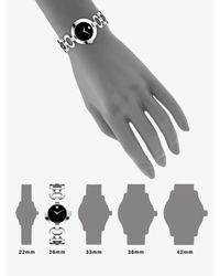 Movado - Black Belamoda Stainless Steel Bracelet Watch - Lyst