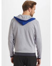 Number:lab - Blue Number:Lab Thermal Hoodie for Men - Lyst