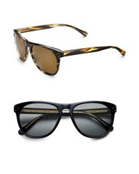 Oliver Peoples | Black Daddy B Wayfarer Sunglasses for Men | Lyst