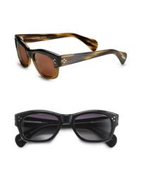 Oliver Peoples | Black Tycoon 51 Sunglasses for Men | Lyst