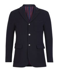 Our Legacy | Blue Navy Lined Melton Wool Blazer for Men | Lyst