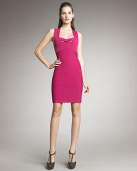 Roland Mouret | Pink Guinevere Sheath Dress | Lyst