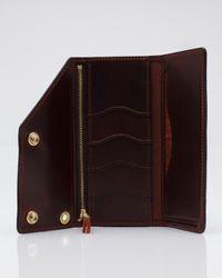 Tanner Goods - Purple Workman Wallet in Oxblood for Men - Lyst